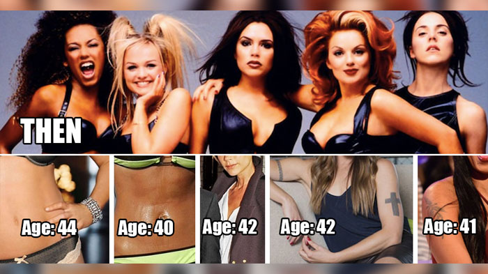 The Spice Girls dengang og nu - Todby-5940