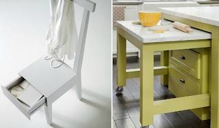 12 πανέξυπνα έπιπλα που θα σας διευκολύνουν αν έχετε μικρή κουζίνα