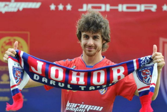 Former Argentina international Pablo Aimar unveiled as new Johor Darul Takzim player