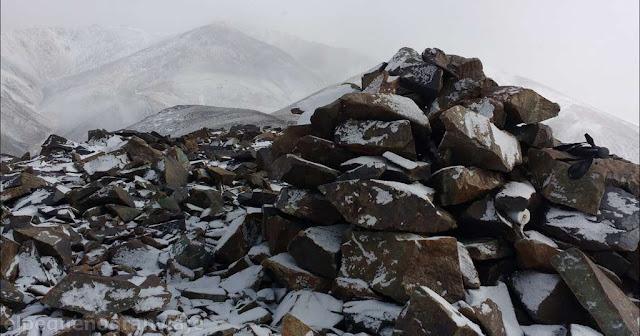 pirca, cumbre, cerro, zanjerias invernal