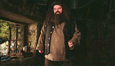 Sosok Hagrid dalam film Harry Potter