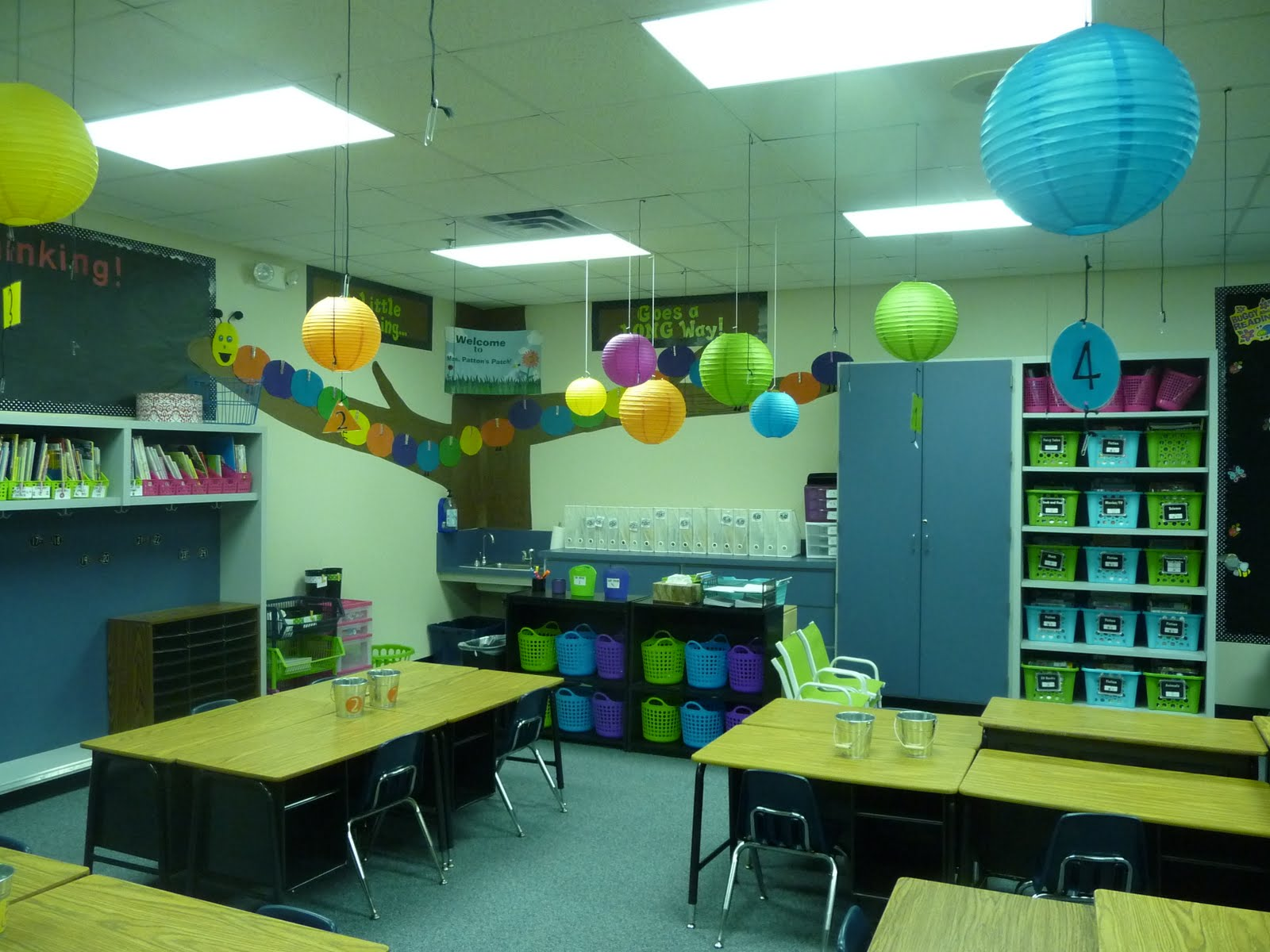Classroom Decoration Ideas With Paper ~ Mrs patton s patch bug of the week classroom photos