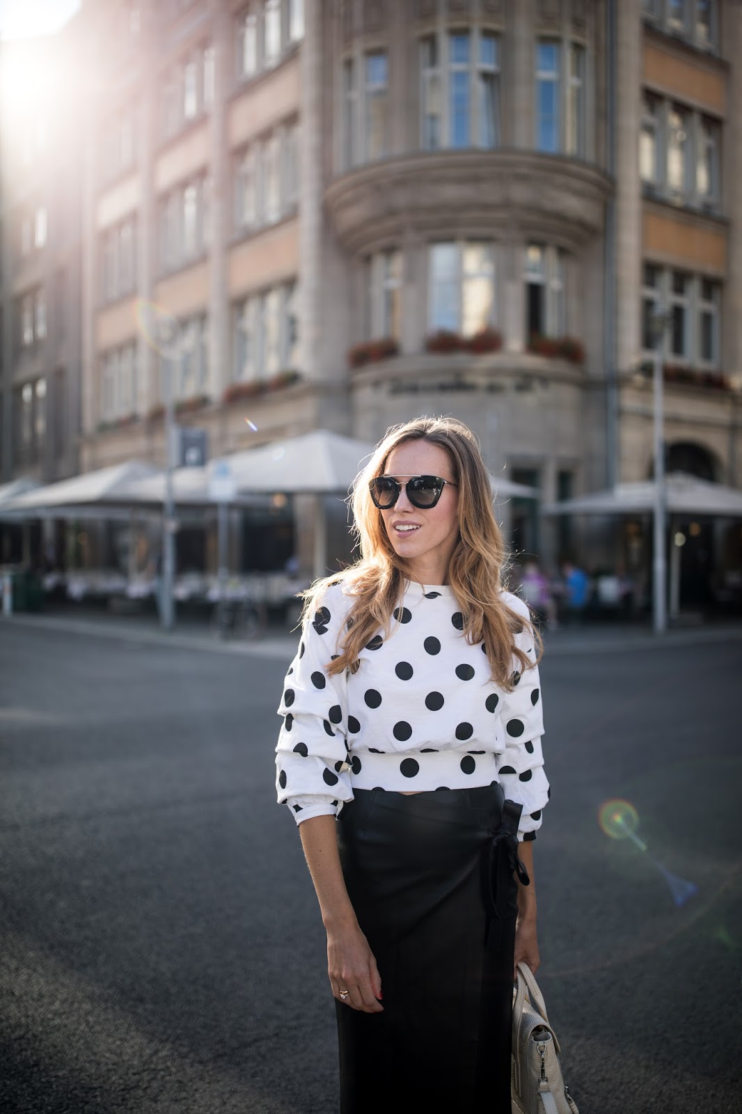 polka dot jumper outfit