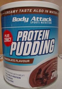 Body Attack Protein Pudding