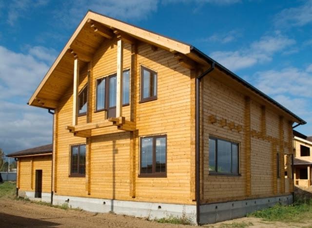 Дом из профилированного бруса в Крыму