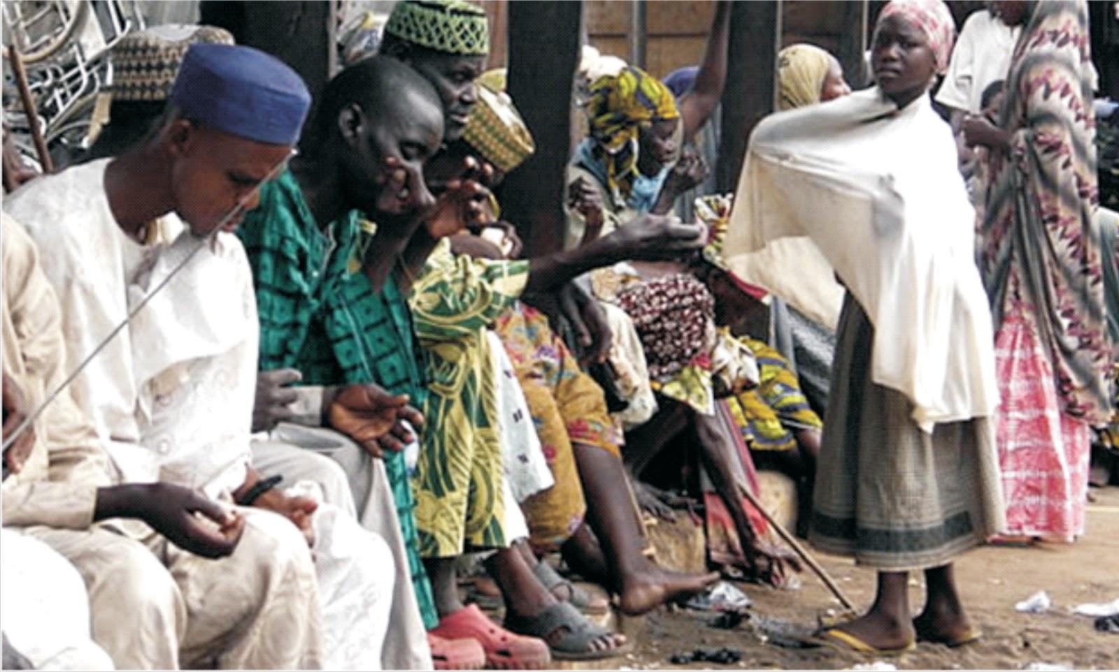 Nigerian beggars