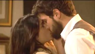 Ines e Bosco si baciano al Segreto