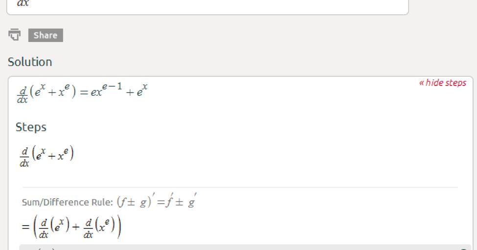 Symbolab Blog High School Math Solutions  Derivative