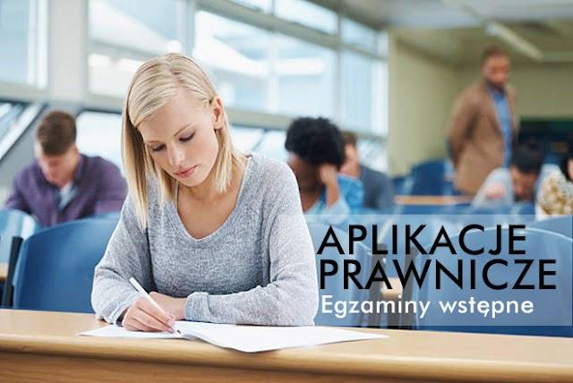 Już wkrótce egzaminy wstępne na aplikacje prawnicze
