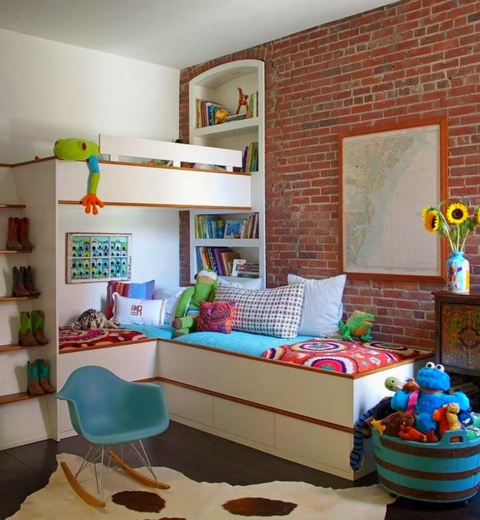 Fotos de dormitorios infantiles para dos hermanas - Dormitorio infantil original ...