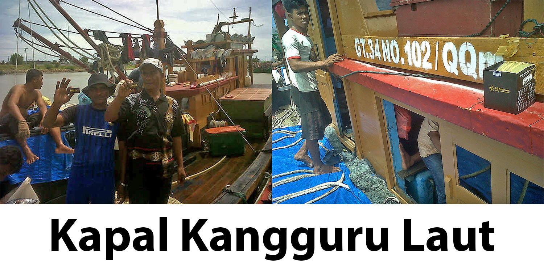 NORIVAL di Kapal KANGGURU LAUT