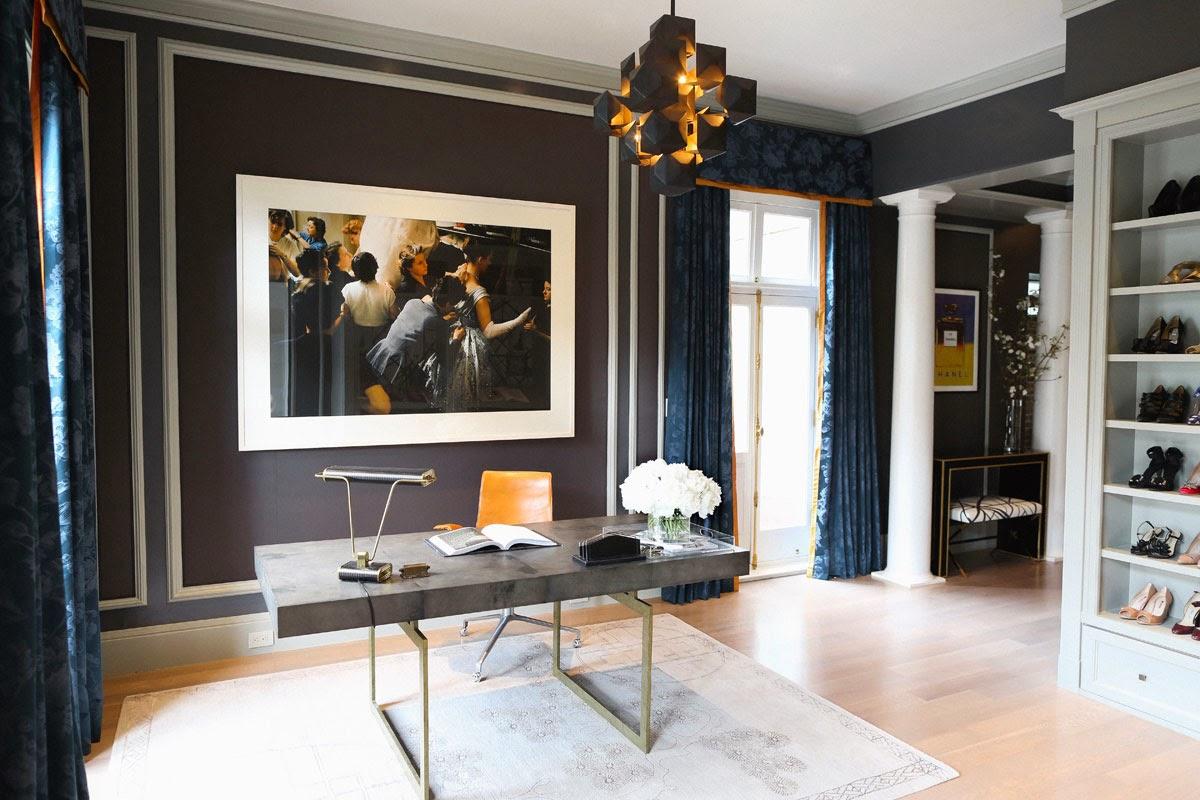 Diary Of A Classy Lady Elle Decor Closet Office Design