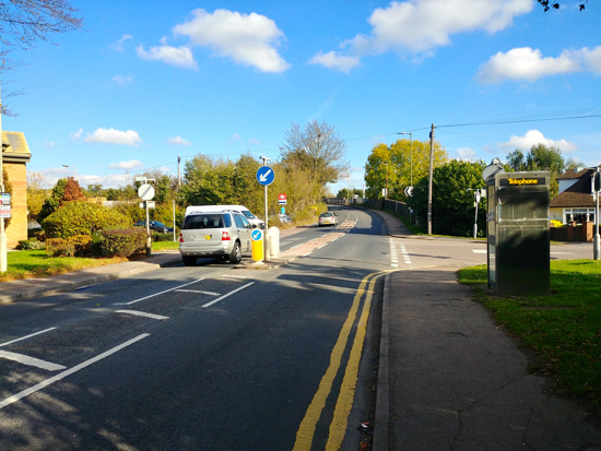 Dixons Hill Road, Welham Green Image by North Mymms News, released under Creative Commons BY-NC-SA 4.0