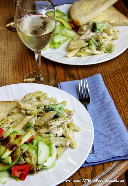 Pair dinner with salad, fresh bread and wine. Get the conversation flowing #Dinner4Two #shop