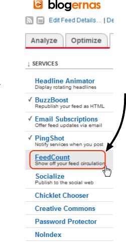 Cara Pasang Widget FeedCount Feedburner di Blog
