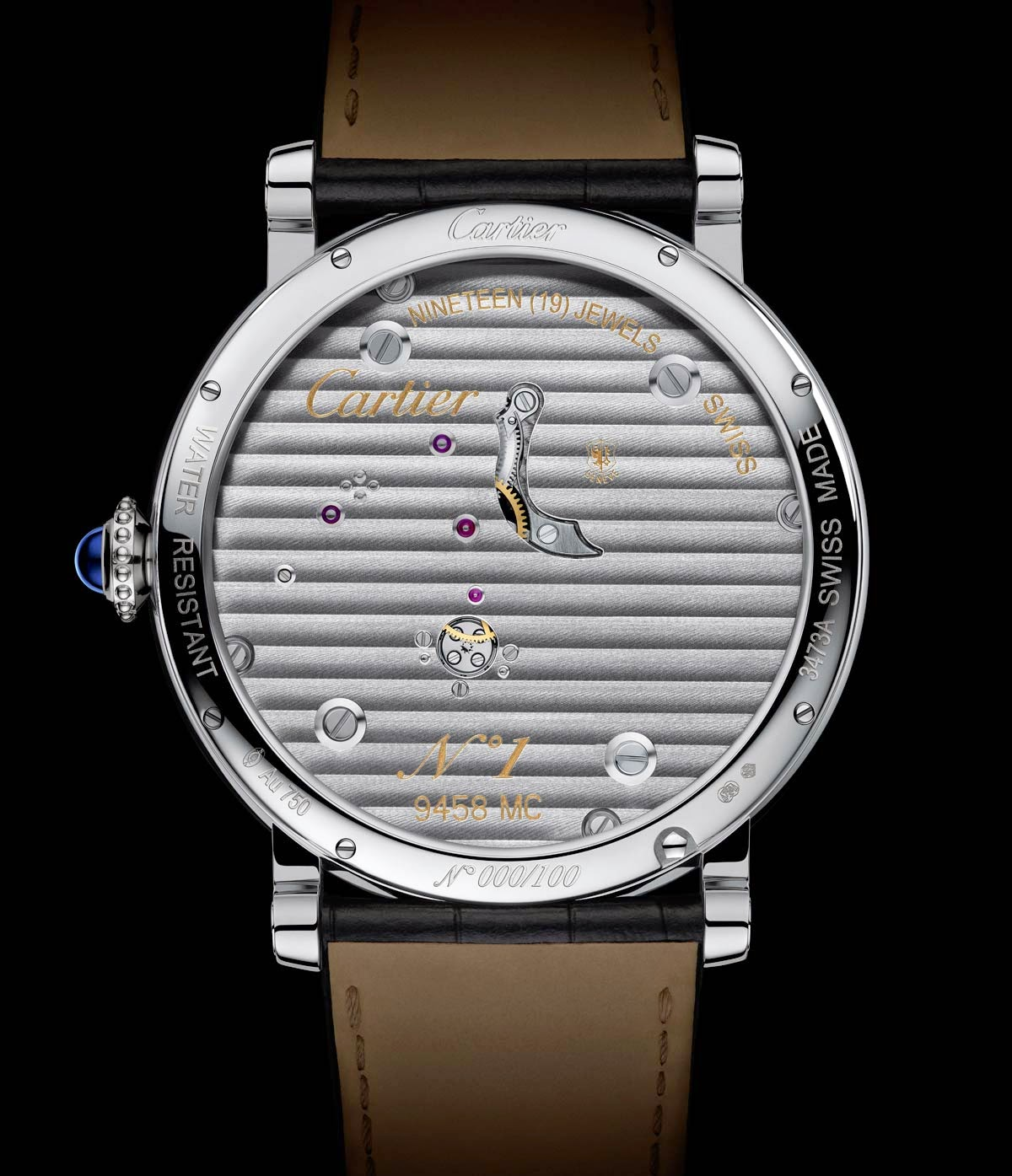 Rotonde de Cartier Reversed Tourbillon