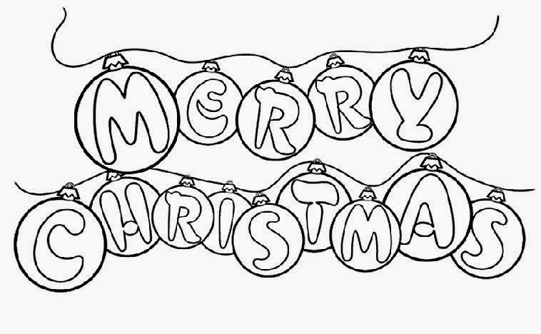 merry christmas coloring pages free coloring pages