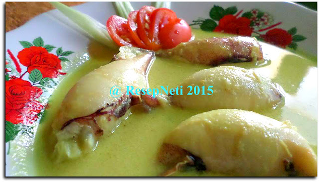Curry Squid With Potatoes Stuffing Recipe at kusNeti kitchen 2015
