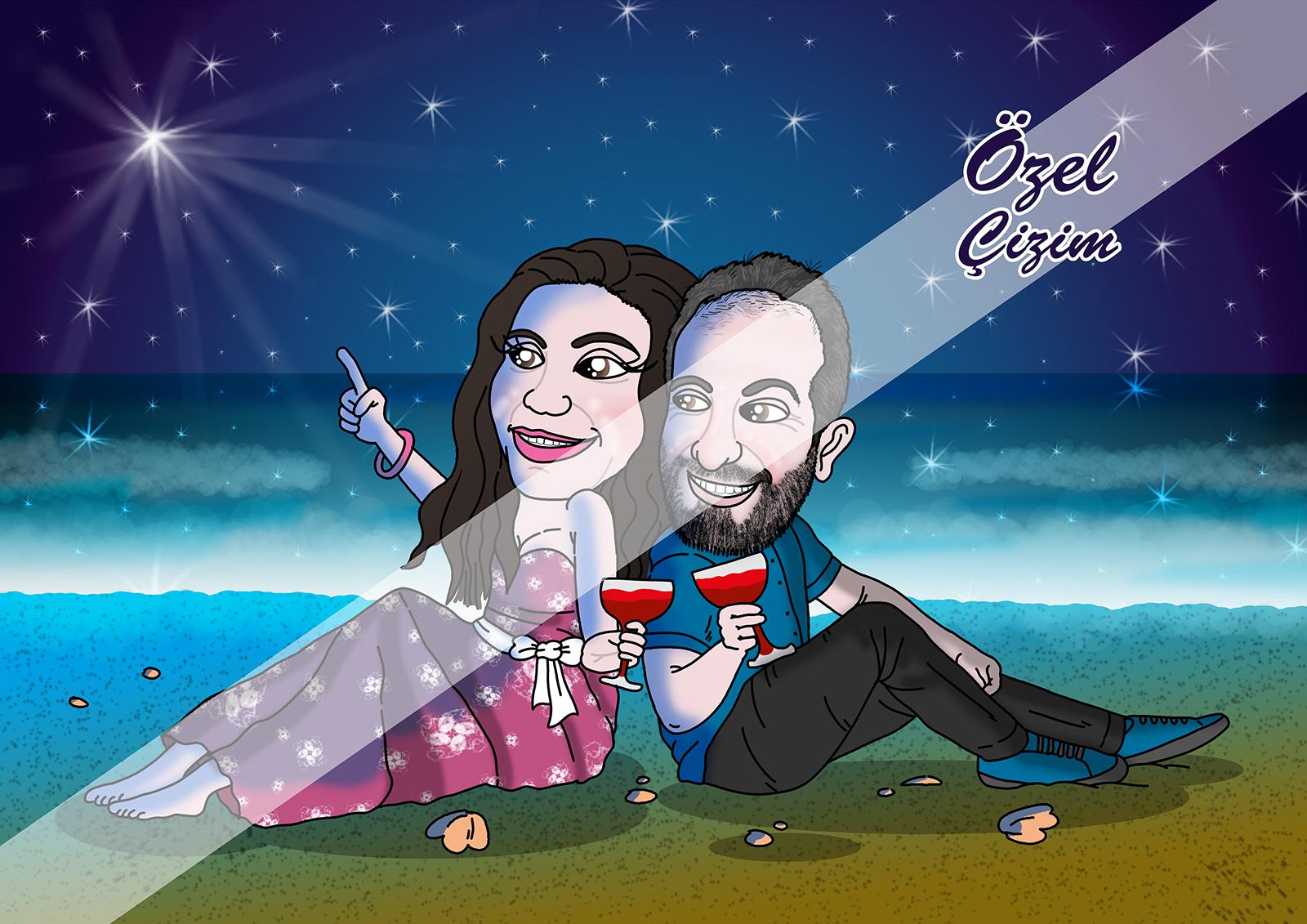 karikatür, erkek için hediye önerileri, erkek için hediye fikirleri, hediye sepeti, buldumbuldum.com, Erkek Arkadaşa hediye, erkeğe doğum günü hediyesi, hediye portre,