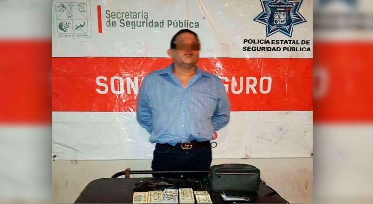 """""""El Nito Amavizca"""" jefe de los Beltran Leyva ofreció medio millón de dolares a policías para que lo dejaran ir"""