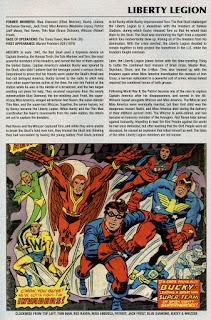 Legion de la Libertad Ficha Marvel