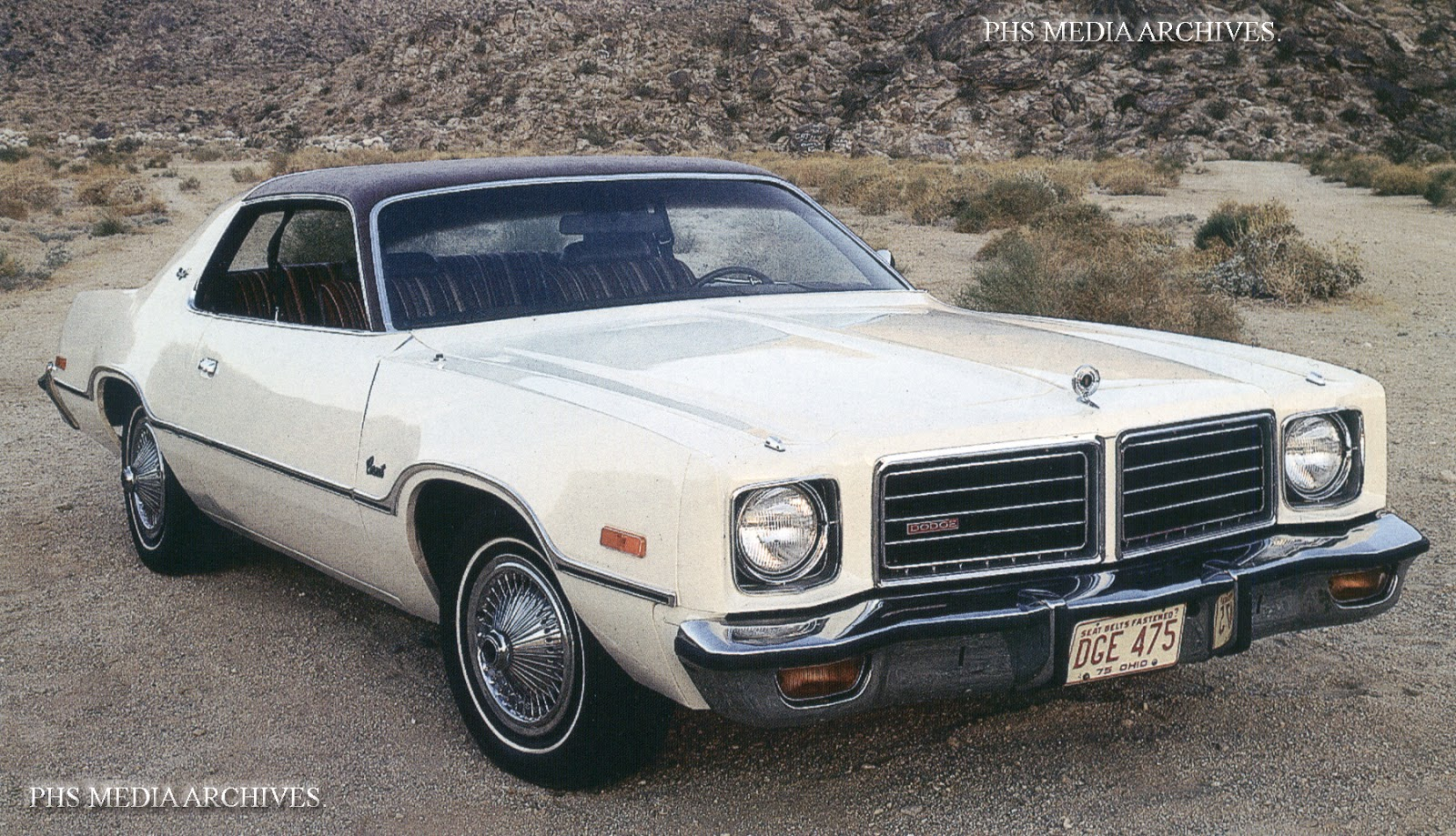 About mid 1976 the Charger Sport coupe disappeared but the Coronet Brougham  was virtually the same car.