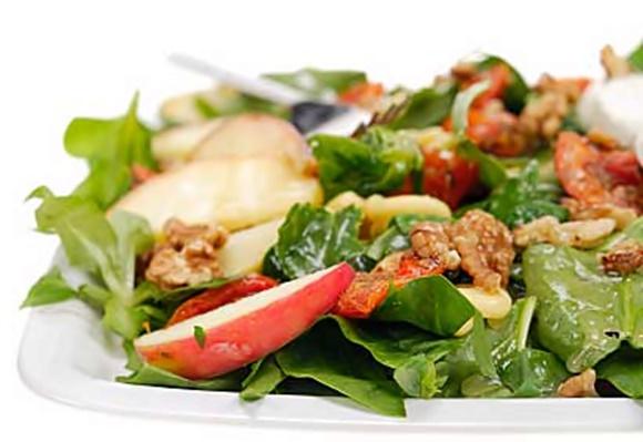 Salade D'Épinards Et De Pommes