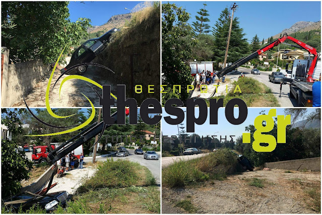 Τροχαίο ατύχημα στην Πλαταριά Ηγουμενίτσας