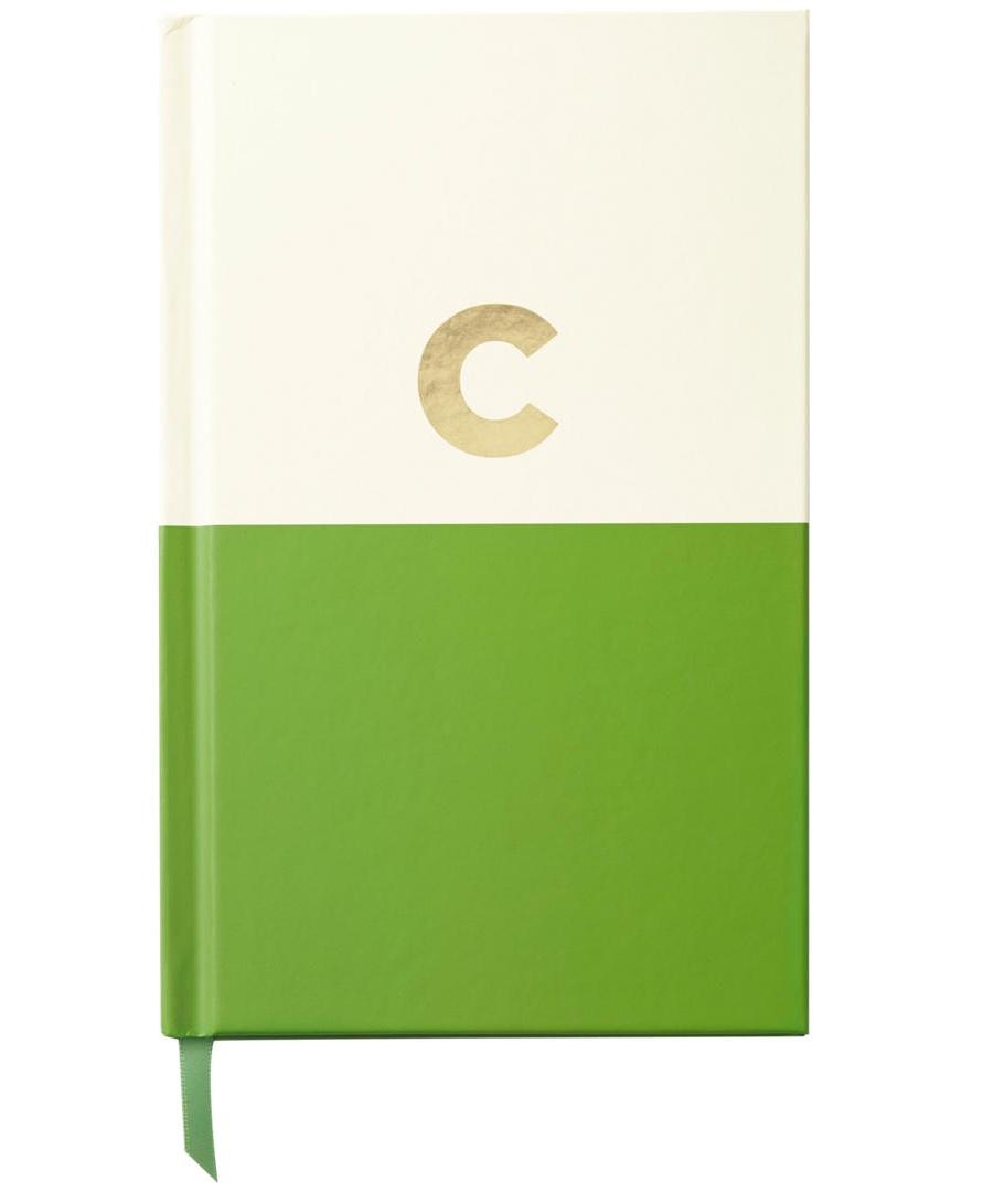 Kate Spade C Initial Notebook