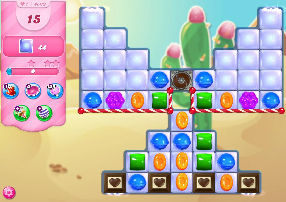 Candy Crush Saga level 4529
