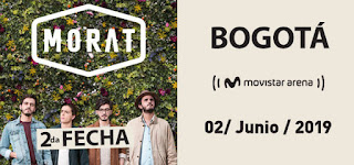 Concierto de MORAT en Bogotá 2da Fecha