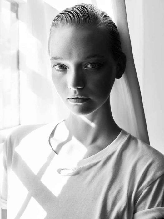 Gemma Ward by Darren McDonald for Inprint No.2