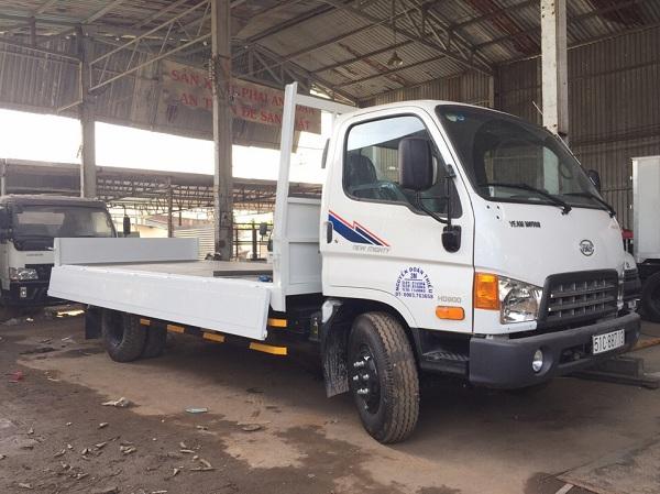 Xe tải Hyundai Veam HD800 thùng lửng 8.15 tấn giá 735 triệu-Bán trả góp