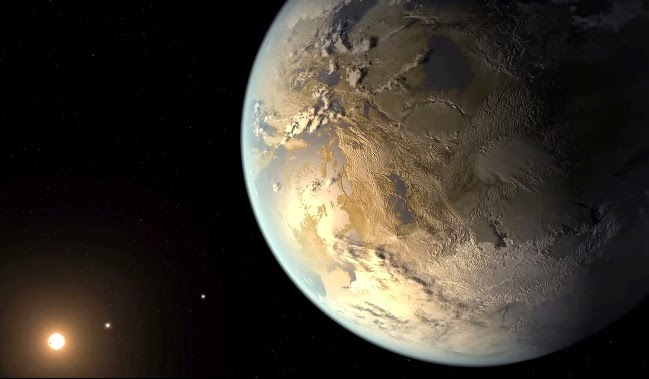 Earth-size planet Kepler-186f in 'habitable zone'