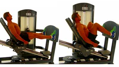 Inclined leg press or not inclined leg press with pulley
