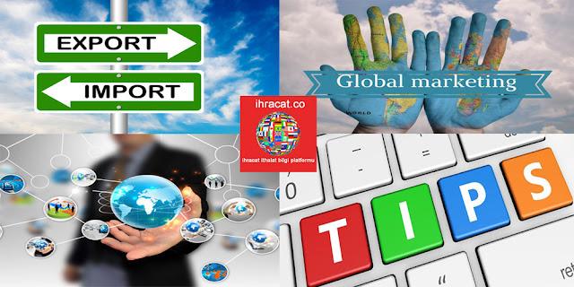 ihracatçılara kritik tavsiyeler, export advise