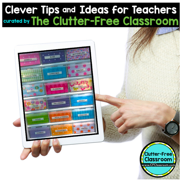 Are you wondering how to organize and store the rubber stamps you use for grading? This classroom organizationt tip will be helpful for elementary teachers.
