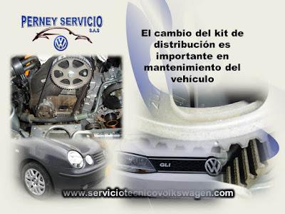 Cambio de Corea de Distribucion Volkswagen
