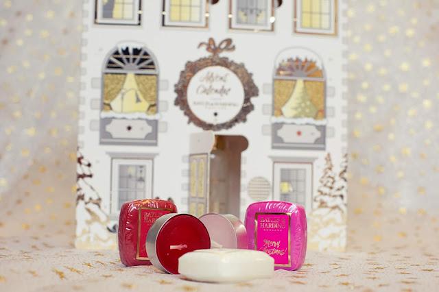 Christmas Advent Calendar Guide 2018 Baylis & Harding Sweet Mandarin Soap Candles Bath Bombs
