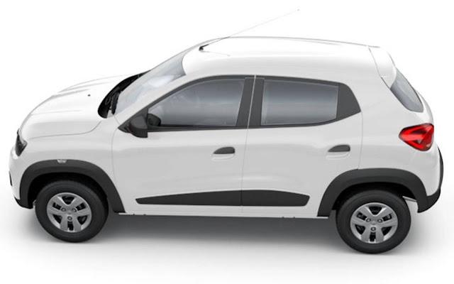 Novo Renault Kwid 2017 - Branco