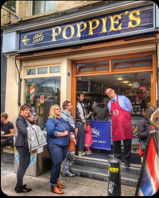 Vor Poppie's, London | Arthurs Tochter Kocht von Astrid Paul