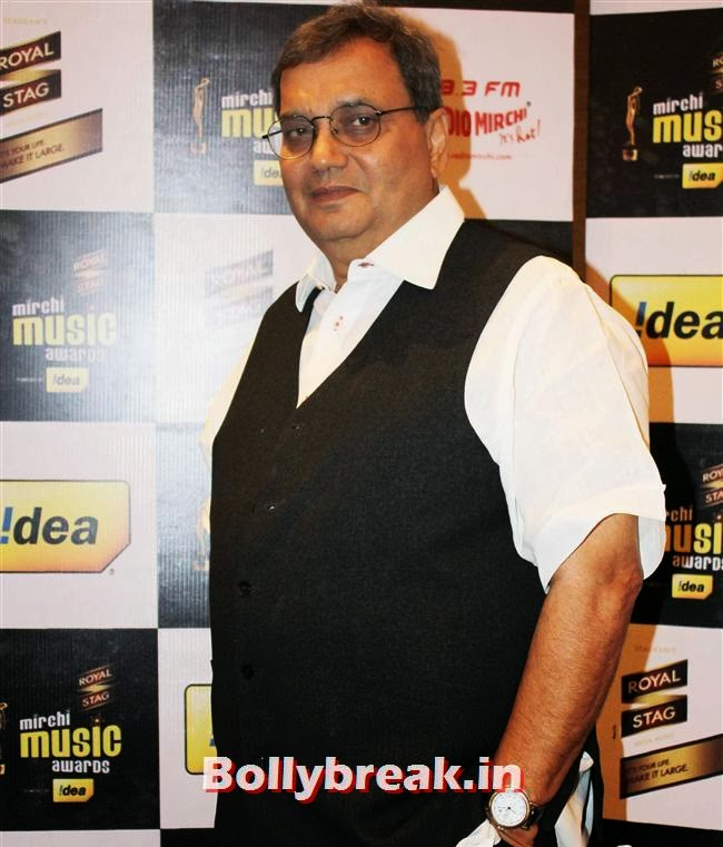 Subhash Ghai, Mirchi Music Awards Jury Meet
