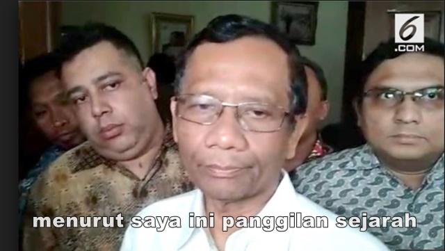 Gagal Jadi Cawapres, Mahfud MD Bungkam dan Pulang Kampung
