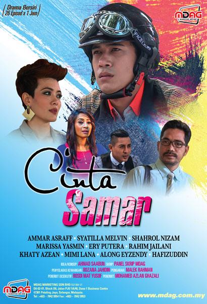 Drama Cinta Samar Lakonan  Amar Asyraf, Syatilla Melvin