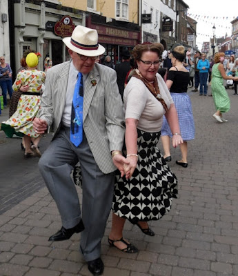 Picture: Dancing in the streets formed part of the Brigg Live Arts Festival 2018 - see Nigel Fisher's Brigg Blog