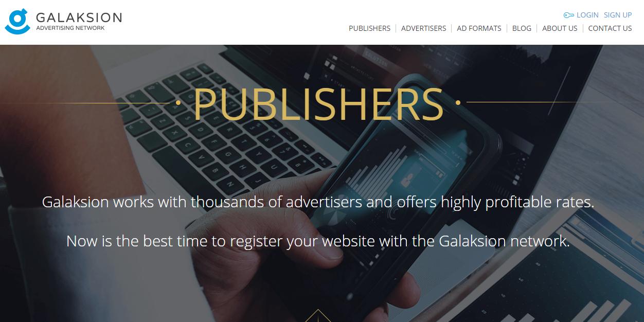 Mendaftarkan Blog Menjadi Publisher Galaksion