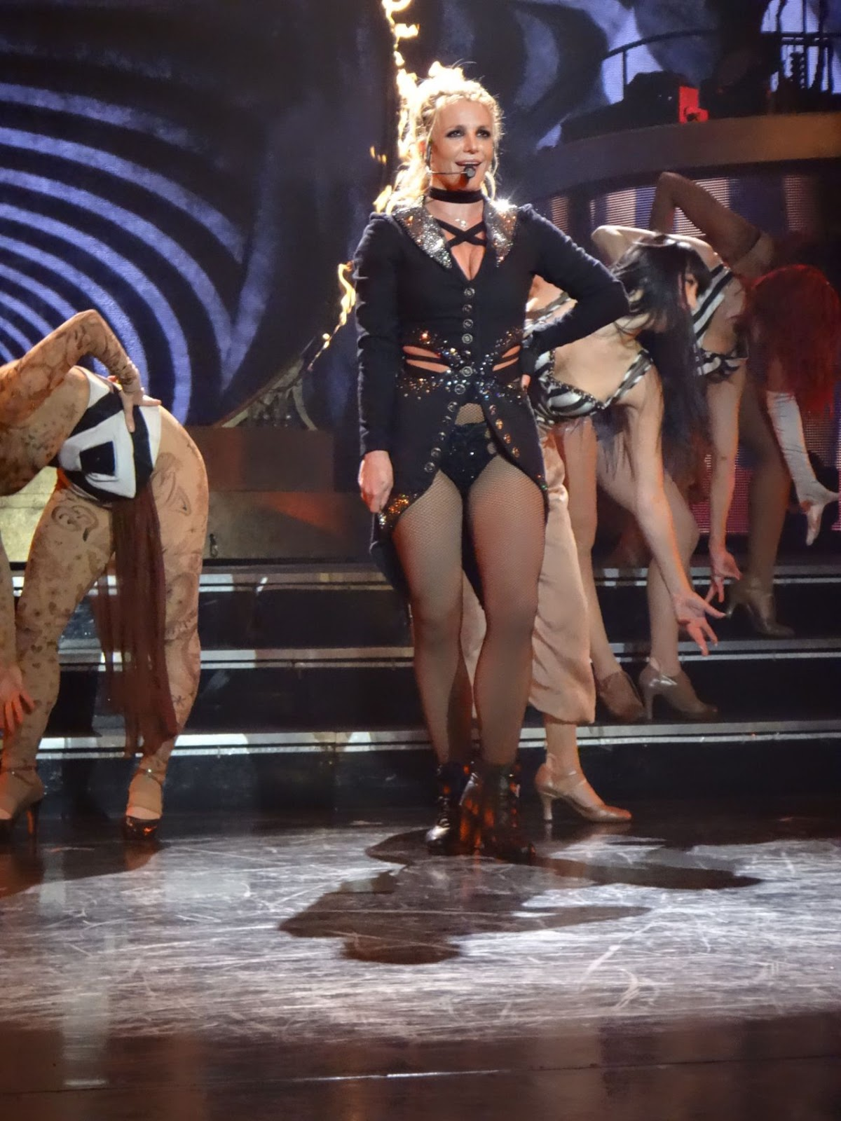 Britney Spears Performs at the AXIS at Planet Hollywood