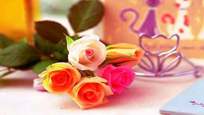 i-love-me-orange-pink-white-roses