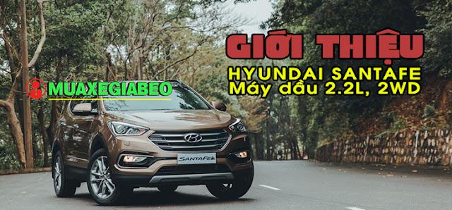 Giới thiệu Hyundai SantaFe 2.2L máy dầu phiên bản tiêu chuẩn 2WD ảnh 14