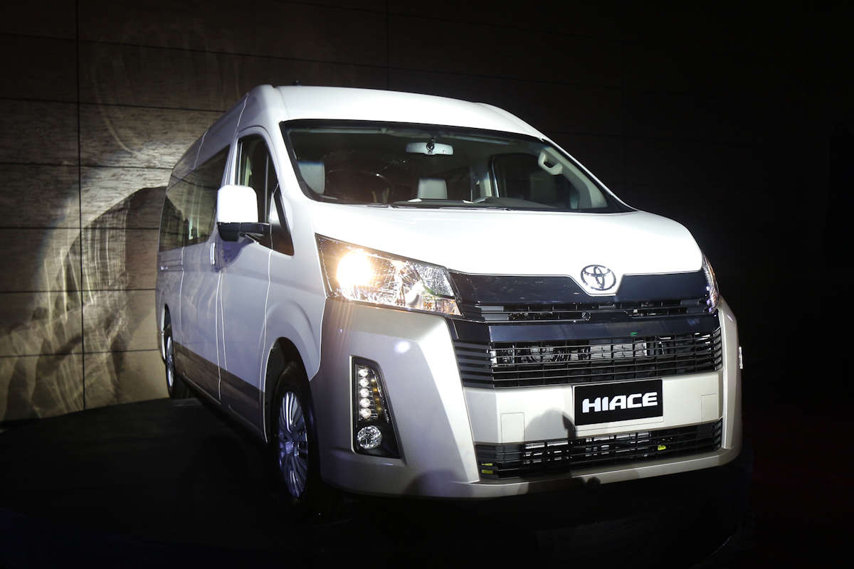 480108d9f3 The first-ever global launch happened in the country as Toyota Motor  Philippines unveiled the all-new 2020 Hiace a week after some photos leaked  onto the ...